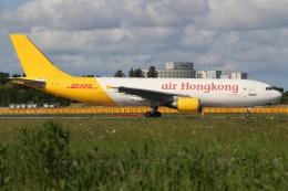 ぽんさんが、成田国際空港で撮影したエアー・ホンコン A300F4-605Rの航空フォト(飛行機 写真・画像)