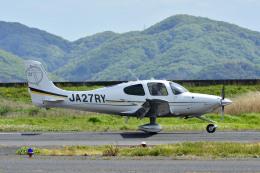 Gambardierさんが、岡南飛行場で撮影した日本法人所有 SR22T GTSの航空フォト(飛行機 写真・画像)