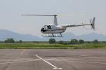 だいまる。さんが、岡南飛行場で撮影した日本法人所有 R44 IIの航空フォト(飛行機 写真・画像)