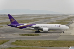 flying_horseさんが、関西国際空港で撮影したタイ国際航空 777-2D7/ERの航空フォト(飛行機 写真・画像)