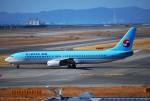 リュウキさんが、関西国際空港で撮影した大韓航空 737-9B5の航空フォト(飛行機 写真・画像)