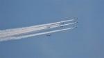 changさんが、東京上空で撮影した航空自衛隊 T-4の航空フォト(飛行機 写真・画像)