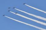 ばとさんが、松島基地で撮影した航空自衛隊 T-4の航空フォト(飛行機 写真・画像)