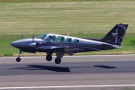 yabyanさんが、名古屋飛行場で撮影した日本個人所有 58 Baronの航空フォト(飛行機 写真・画像)