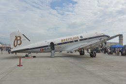 kotaちゃんさんが、岩国空港で撮影したスーパーコンステレーション飛行協会 DC-3Aの航空フォト(飛行機 写真・画像)