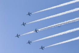 アイルトンライコネンさんが、自分の家で撮影した航空自衛隊 T-4の航空フォト(飛行機 写真・画像)