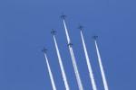 アイルトンライコネンさんが、なしで撮影した航空自衛隊 T-4の航空フォト(飛行機 写真・画像)