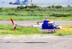 しょうせいさんが、岡南飛行場で撮影した佐川航空 AS350B Ecureuilの航空フォト(飛行機 写真・画像)