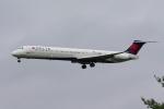 zettaishinさんが、ブラッドレー国際空港で撮影したデルタ航空 MD-88の航空フォト(飛行機 写真・画像)