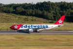Gambardierさんが、岡山空港で撮影したエーデルワイス航空 A330-223の航空フォト(飛行機 写真・画像)