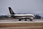 LEVEL789さんが、広島空港で撮影したシンガポール航空 A310-324の航空フォト(飛行機 写真・画像)