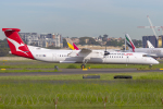 mameshibaさんが、シドニー国際空港で撮影したサンステート・エアラインズ DHC-8-402Q Dash 8の航空フォト(飛行機 写真・画像)