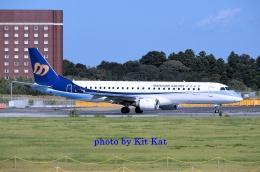 キットカットさんが、成田国際空港で撮影したマンダリン航空 ERJ-190-100 IGW (ERJ-190AR)の航空フォト(飛行機 写真・画像)