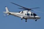 ブルーさんさんが、東京ヘリポートで撮影した日本法人所有 A109E Powerの航空フォト(飛行機 写真・画像)