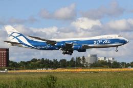 ぽんさんが、成田国際空港で撮影したエアブリッジ・カーゴ・エアラインズ 747-8Fの航空フォト(飛行機 写真・画像)