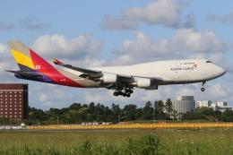 ぽんさんが、成田国際空港で撮影したアシアナ航空 747-48E(BDSF)の航空フォト(飛行機 写真・画像)