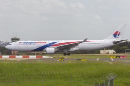 mameshibaさんが、シドニー国際空港で撮影したマレーシア航空 A330-323Xの航空フォト(飛行機 写真・画像)