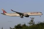 ぽんさんが、成田国際空港で撮影したカタール航空 A350-1041の航空フォト(飛行機 写真・画像)