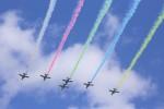 どらいすたーさんが、松島基地で撮影した航空自衛隊 T-4の航空フォト(飛行機 写真・画像)