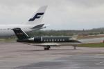 kahluamilkさんが、ヘルシンキ空港で撮影したジェットフリート CL-600-2B16 Challenger 604の航空フォト(飛行機 写真・画像)