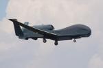 このはさんが、横田基地で撮影したアメリカ空軍 RQ-4B-40 Global Hawkの航空フォト(飛行機 写真・画像)