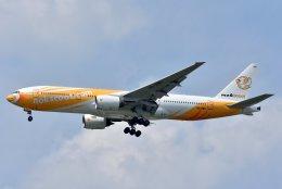 航空フォト:HS-XBD ノックスクート 777-200