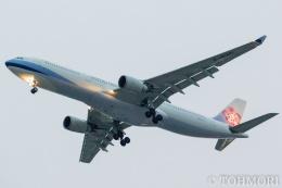 遠森一郎さんが、福岡空港で撮影したチャイナエアライン A330-302の航空フォト(飛行機 写真・画像)
