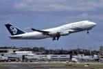 パール大山さんが、シドニー国際空港で撮影したニュージーランド航空 747-441の航空フォト(飛行機 写真・画像)
