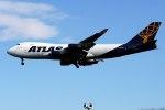 パール大山さんが、横田基地で撮影したアトラス航空 747-47UF/SCDの航空フォト(飛行機 写真・画像)