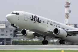 planetさんが、熊本空港で撮影したJALエクスプレス 737-446の航空フォト(飛行機 写真・画像)