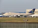 kahluamilkさんが、成田国際空港で撮影したサウジアラビア航空 747-368の航空フォト(飛行機 写真・画像)