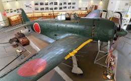 青い翼に鎧武者マークの!さんが、紫電改展示館で撮影した日本海軍 N1K2-Jの航空フォト(飛行機 写真・画像)