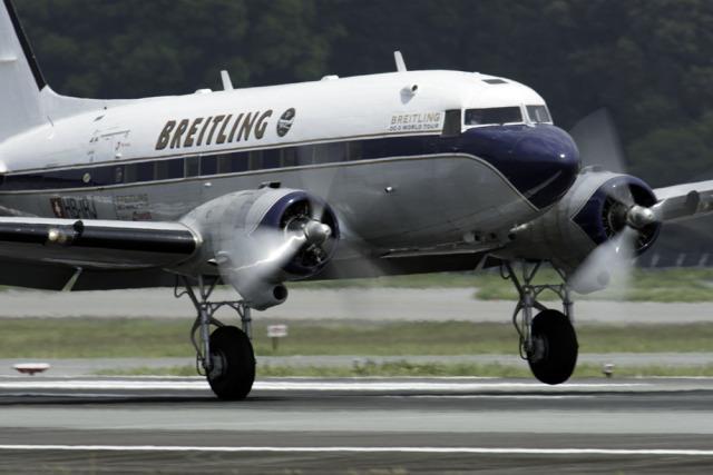 planetさんが、熊本空港で撮影したスーパーコンステレーション飛行協会 DC-3Aの航空フォト(飛行機 写真・画像)