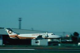 空旅さんが、鹿児島空港で撮影したオレンジカーゴ 1900C-1の航空フォト(飛行機 写真・画像)