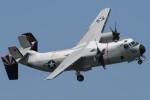 banshee02さんが、厚木飛行場で撮影したアメリカ海軍 C-2A Greyhoundの航空フォト(飛行機 写真・画像)