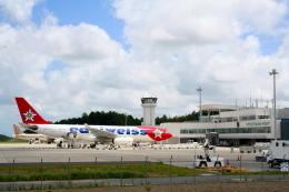 shibu03さんが、静岡空港で撮影したエーデルワイス航空 A330-243の航空フォト(飛行機 写真・画像)