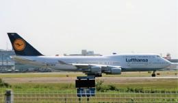 にしやんさんが、成田国際空港で撮影したルフトハンザドイツ航空 747-430の航空フォト(飛行機 写真・画像)