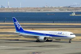 Frankspotterさんが、羽田空港で撮影した全日空 767-381の航空フォト(飛行機 写真・画像)