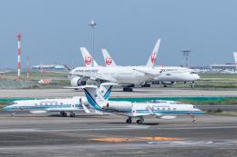 Y-Kenzoさんが、羽田空港で撮影した海上保安庁 G-V Gulfstream Vの航空フォト(飛行機 写真・画像)