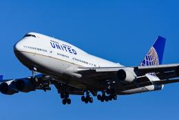 Frankspotterさんが、成田国際空港で撮影したユナイテッド航空 747-422の航空フォト(飛行機 写真・画像)