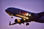 パンダさんが、成田国際空港で撮影したティーウェイ航空 737-8GJの航空フォト(飛行機 写真・画像)