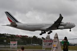 nobu2000さんが、プリンセス・ジュリアナ国際空港で撮影したエールフランス航空 A340-313Xの航空フォト(飛行機 写真・画像)