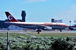 パール大山さんが、成田国際空港で撮影したマレーシア航空 A300B4-203の航空フォト(飛行機 写真・画像)