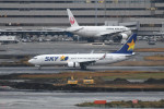 kuro2059さんが、羽田空港で撮影したスカイマーク 737-8Q8の航空フォト(飛行機 写真・画像)