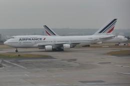 nobu2000さんが、パリ シャルル・ド・ゴール国際空港で撮影したエールフランス航空 747-428の航空フォト(飛行機 写真・画像)