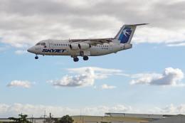 fox_samさんが、ニノイ・アキノ国際空港で撮影したスカイジェット・エアラインズ BAe-146-200の航空フォト(飛行機 写真・画像)