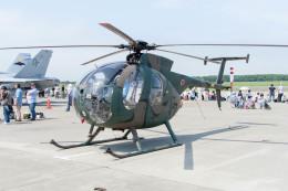jombohさんが、八戸航空基地で撮影した陸上自衛隊 OH-6Dの航空フォト(飛行機 写真・画像)