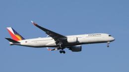 raichanさんが、成田国際空港で撮影したフィリピン航空 A350-941の航空フォト(飛行機 写真・画像)