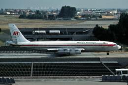 パール大山さんが、パリ オルリー空港で撮影したケニア航空 707-351Bの航空フォト(飛行機 写真・画像)