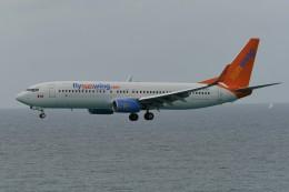nobu2000さんが、プリンセス・ジュリアナ国際空港で撮影したサンウィング・エアラインズ 737-8GSの航空フォト(飛行機 写真・画像)